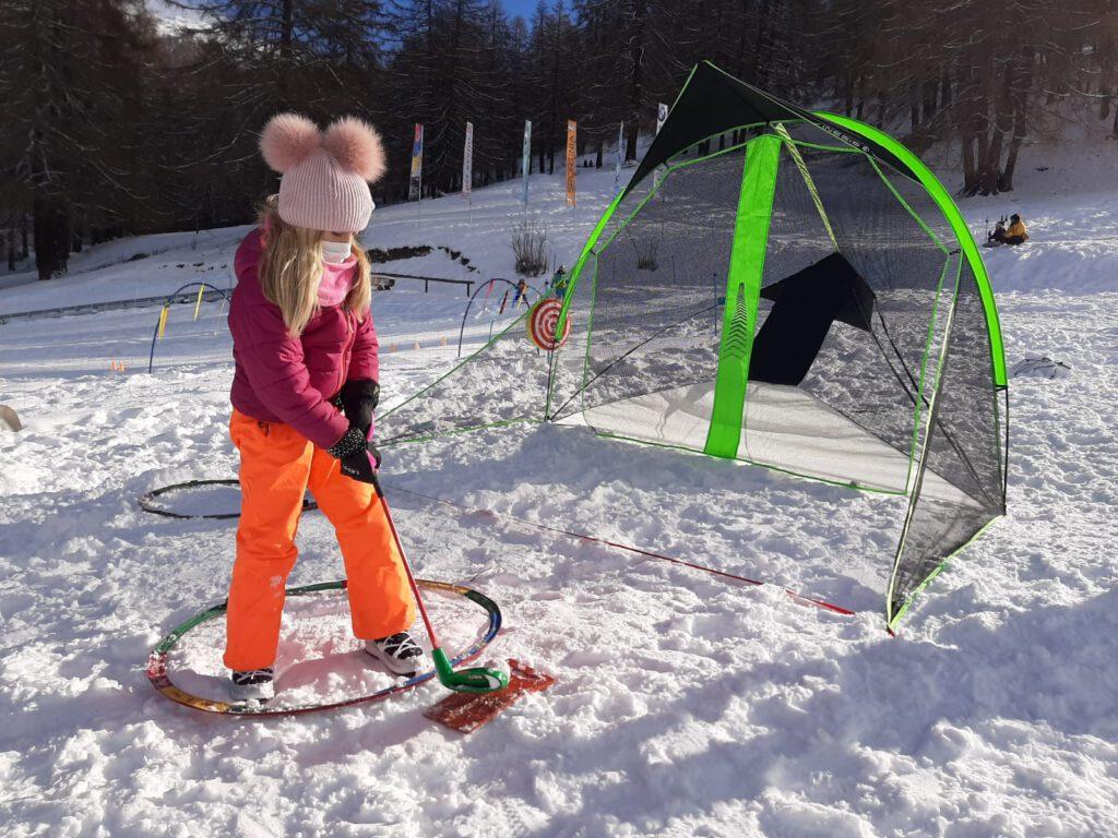 snow-golf